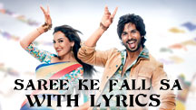 Saree Ke Fall Sa - With Lyrics | R... Rajkumar
